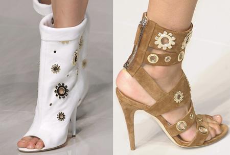اجمل ألاحذية في اسبوع الأزياء في ميلانو2011_2012