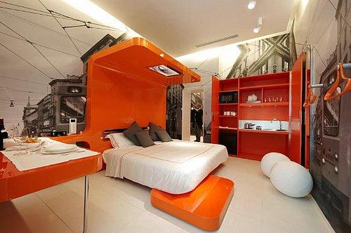 شوارع المدينة داخل غرفة النوم
