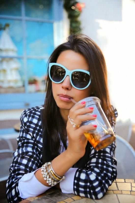 مواضيع ذات صلةأخر صيحات النظارات الشمسية لهذا العامشاهدي النظارات