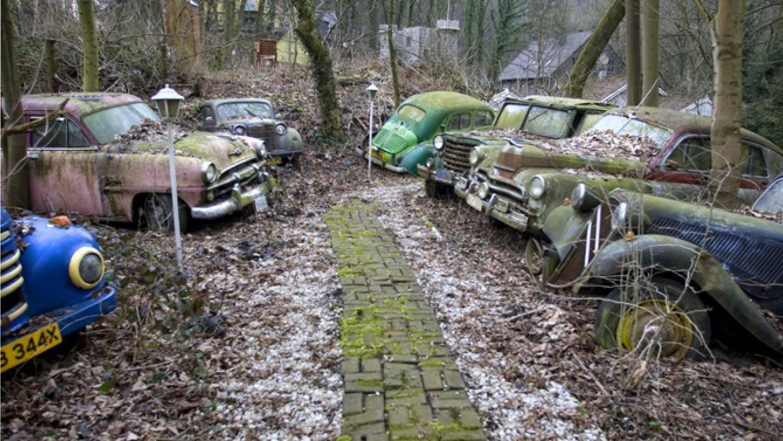 شاهد مقبرة للسيارات الكلاسيكية النادرة في ألمانيا 1333442146
