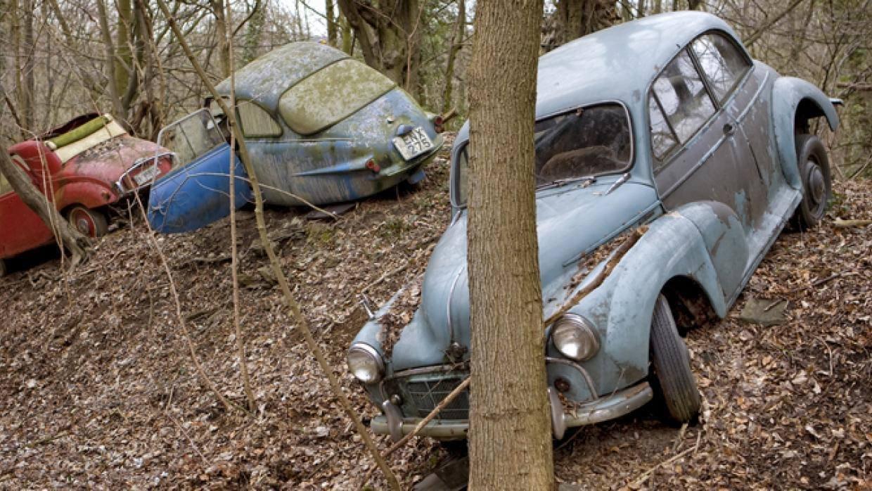 شاهد مقبرة للسيارات الكلاسيكية النادرة في ألمانيا 2044031509