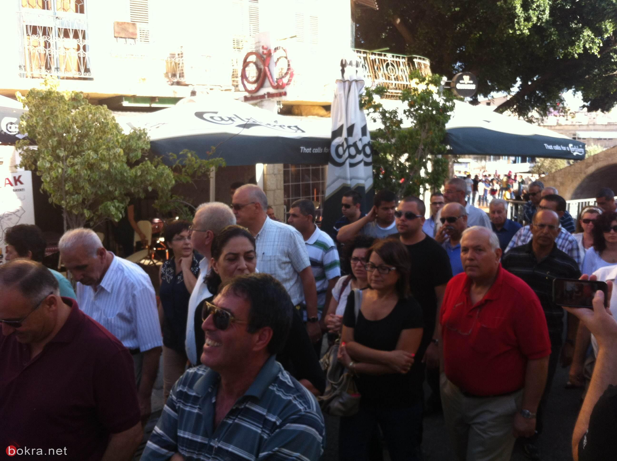 مسيرة الى ضريح توفيق زياد في الناصرة بمناسبة الذكرى العشرين لرحيله