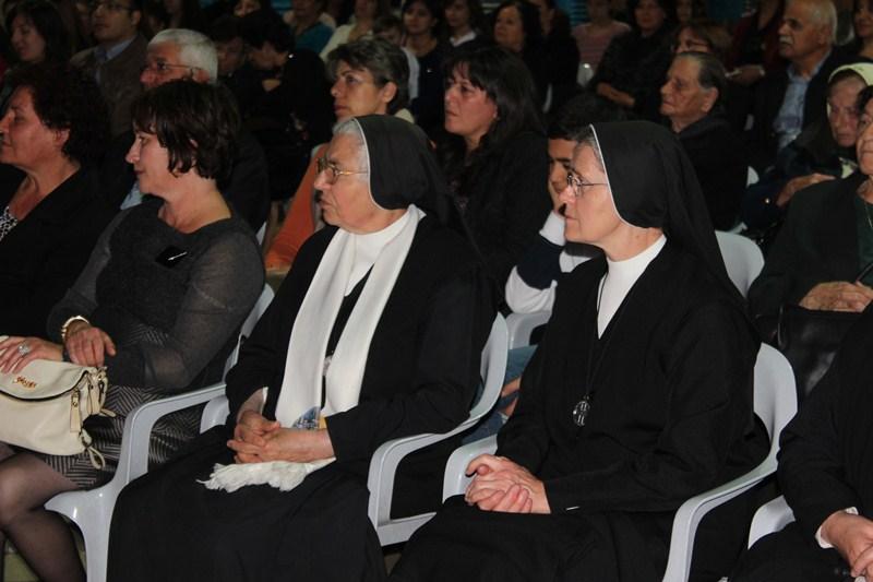 رسيتال فصحي في كنيسة سيدة الجليل في البقيعة