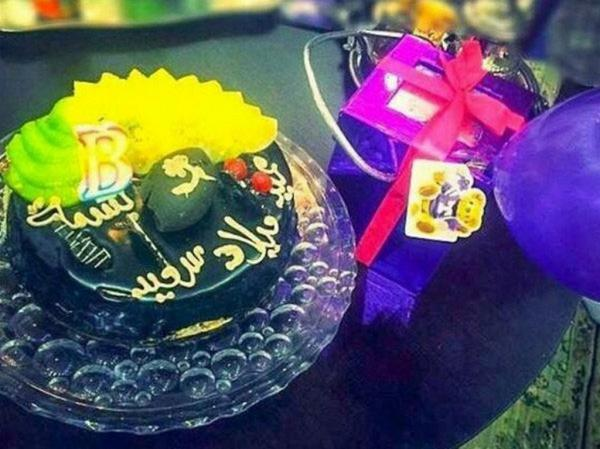 بسمة بوسيل تحتفل بعيد ميلادها بغياب تامر حسني