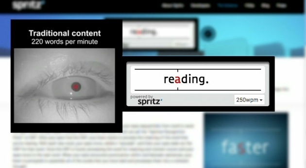 تطبيق Spritz يغيّر أسلوب القراءة رأسا على عقب.. ألف كلمة في الدقيقة