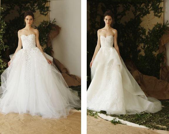 8253d97831a56 ... أجمل فساتين زفاف ربيع 2017 ...