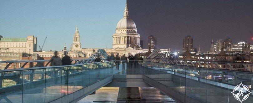 علاء - شاهد جمال لندن بين ظلام الليل وضوء النهار 2078484656