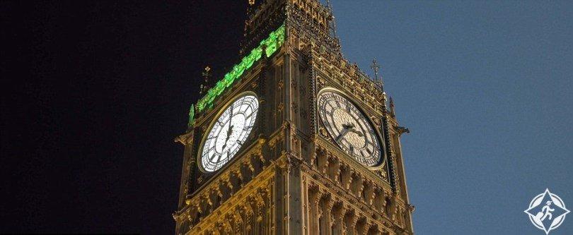 علاء - شاهد جمال لندن بين ظلام الليل وضوء النهار 857971098