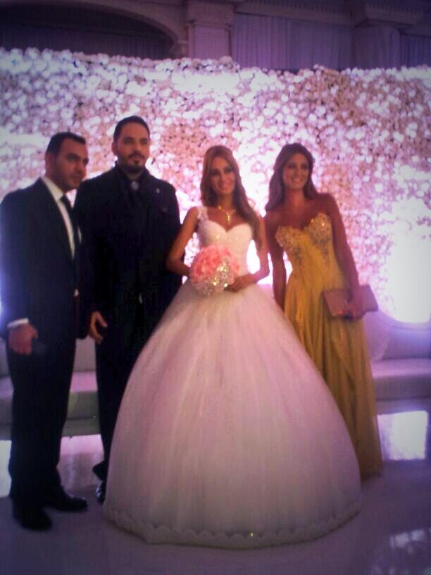 صور جديدة لحفل زواج رامي عيّاش