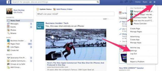 اكتشف من يخترق أو يراقب حسابك الـ فيسبوك