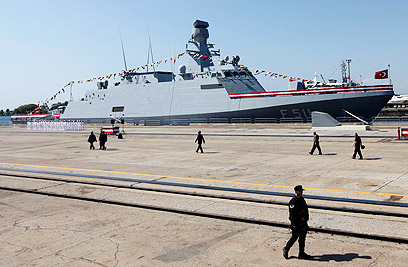 تركيا تدشن أول سفينة حربية