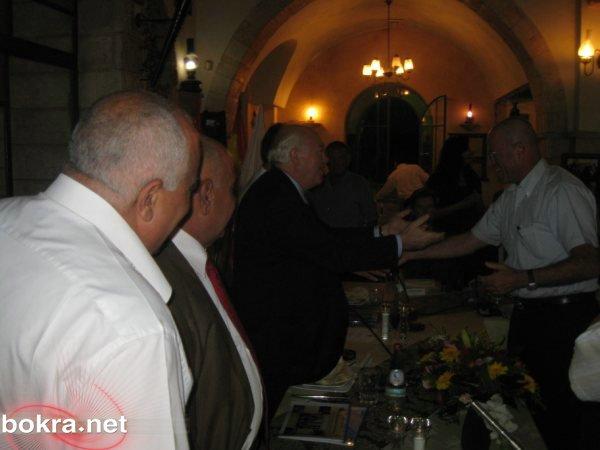 """موسى قدورة وداني عطار على مائدة واحدة في مطعم """"سهارى"""""""