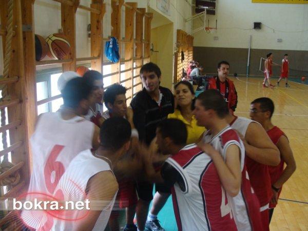 مهرجان كرة سلة مع الطيبة في يافة الناصرة