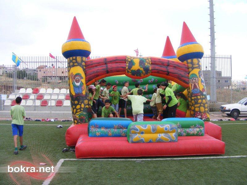 سخنين: يوم رياضي في مدرسة الغدير