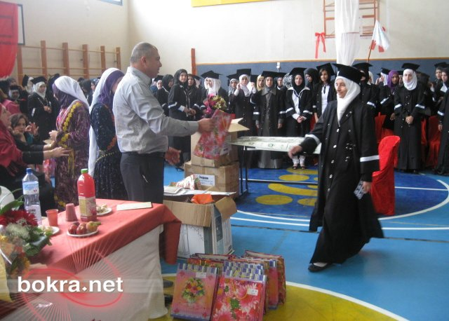 حفلة تخريج مدرسة خديجة بنت خويلد ام الفحم 2010
